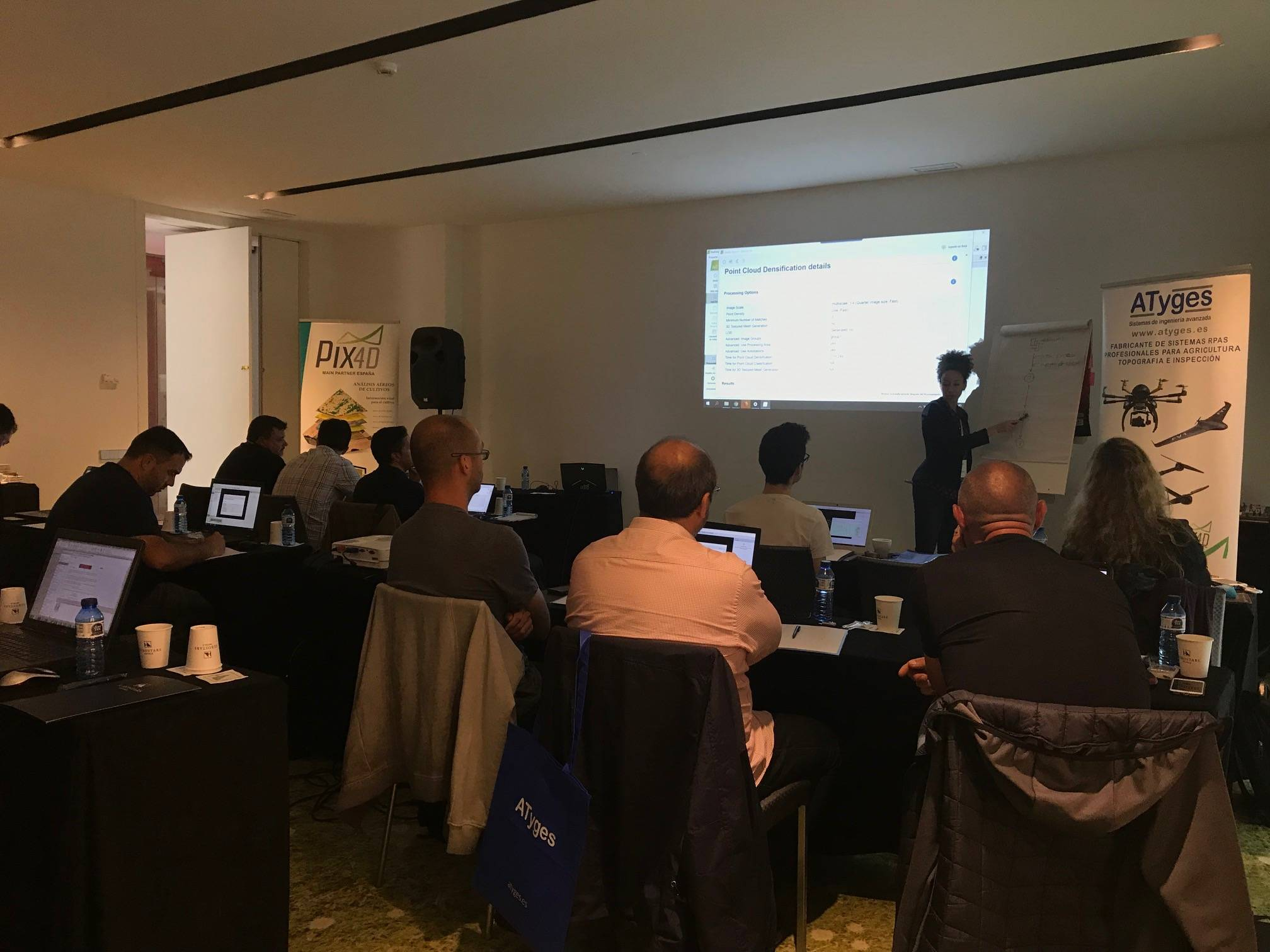Workshop Barcelona PIX4D 2019 - ATyges