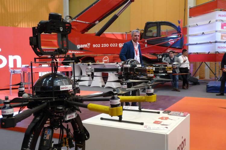 Equipos ATyges FV8 de la empresa Aeron (GAM Maquinaria)